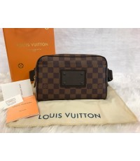 LOUIS VUITTON Damier Ebene Brooklyn Bum Bag