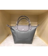 Longchamp Le Pliage Neo Shopping Handbag สีเทา Size S