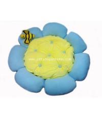 ที่นอนนาโน Flower สีฟ้า (out of stock)