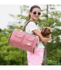 กระเป๋าใส่สัตว์เลี้ยง - มี 2 สีค่ะ