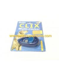 Clix Multi-Clicker คลิกเกอร์ฝึกสุนัข ปรับระดับเสียงได้