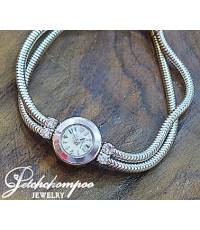 นาฬิกา Blancpain สายสปริงฝังเพชรโบราณ