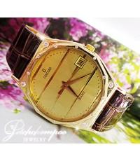 นาฬิกาทองคำฝังเพชร
