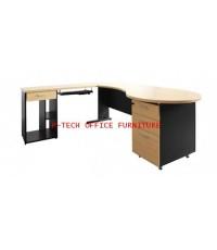 โต๊ะทำงานผู้บริหาร รุ่น PANEL PLUS