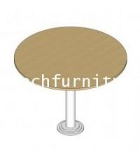 โต๊ะประชุมขาเหล็กทรงกลม รุ่นDL6