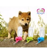 จุกให้น้ำลูกสุนัขแมวกระต่ายแบบลูกกลิ้งเล็กพร้อมขวด สำหรับเกาะกรง ACEPETขนาด150มล.