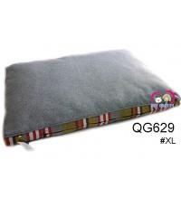 ที่นอนน้องหมาน้องแมว ฺButterผ้าแคนวาส สำหรับสุนัข1-20กก.สีเทาแต่งสก๊อต