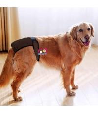 กางเกงอนามัย สุนัขตัวเมีย พันธุ์ใหญ่ เอวตีนตุ๊กแกปรับได้ ผ้าเบาสบายแห้งไว Size M,L