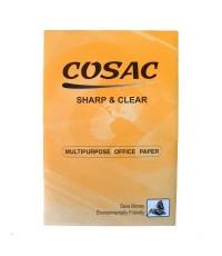 กระดาษถ่ายฯ A4 80G. COSAC ห่อส้ม 1 กล่อง (5รีม/กล่อง)