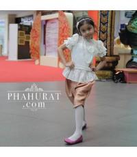 ชุดไทย ร.5 ประยุกต์ เด็กหญิง