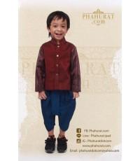 ชุดไทยพระราชทานแขนยาว (เด็กชาย)