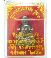หลวงพ่อผาด วัดไร่ รูปหล่อ โบราณ รุ่น 1 เนื้อนวะโลหะ เทดินไทย
