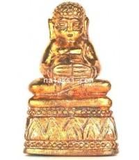 รูปหล่อพระสังกัจจายน์ทรัพย์ทวี หลวงปู่สมชาย วัดคงคา เนื้อชนวนอาถรรพณ์