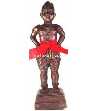 กุมารทองแดงน้อยขนาดบูชารุ่นแรก หลวงปู่ขุ้ย วัดซับตะเคียน เนื้อโลหะอาถรรพณ์
