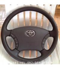 3,600 บาท พวงมาลัย Toyota Fortuner มีแอร์แบค รุ่น TOP  สภาพใหม่ ไม่มีรอยแม้แต่นิดเดียว