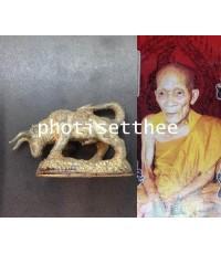 วัวธนูเทดินไทย หลวงปู่กาหลง  วัดเขาแหลม จ.สระแก้ว
