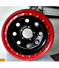 กระทะเหล็กขอบแดงsoft8 16x8-40 5x139.7