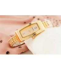 นาฬิกา  DKNY สายเลสสีทอง