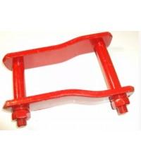 โตงเตงแหนบ FORD หนา-สีแดง 6 นิ้ว (0913057) (ราคาต่ออัน)