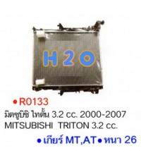 หม้อน้ำ MITSUBISHI TRITON 3.2cc. MT PA26 ปี 05-15 (R0133)