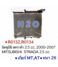 หม้อน้ำ MITSUBISHI TRITON 2.5cc. AT PA26 ปี 05-15 (R0134)