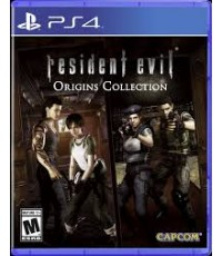 PS4 Resident Evil Origins Collection Z3