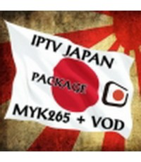 IPTV Japan MYK H265 + VOD = 76 Ch รายการชัดเจนมาก เหมาะสำหรับพืนที่ที่ internet มีความเร็ว