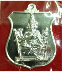เหรียญพระพรหมพระราชทาน เนื้อเงิน หลวงพ่อชำนาญ วัดบางกุฎีทอง ปทุมธานี