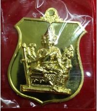 เหรียญพระพรหมพระราชทาน เนื้อทองคำ หลวงพ่อชำนาญ วัดบางกุฎีทอง ปทุมธานี