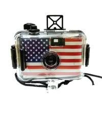 กล้องกันน้ำ ลายอเมริกา