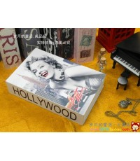 ตู้เซฟหนังสือ ลาย Hollywood