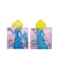 ผ้าขนหนูเด็ก ผ้าเช็ดตัวเด็ก ลายเอลซ่า elsa