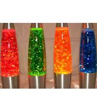 โคมไฟลาวากากเพชร Glitter lava lampโคมไฟลาวา