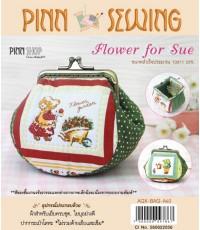 ชุดคิทงานเย็บ กระเป๋า Flower for Sue รุ่น AQX-BAG-A60