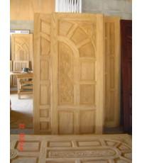 บานประตูไม้สัก แบบ 10