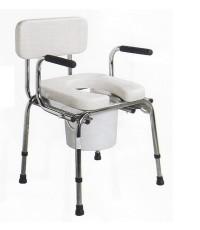 เก้าอี้นั่งถ่ายแขนปรับลงได้