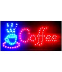 ป้ายไฟ LED สำเร็จรูป coffee