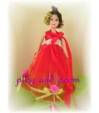 ผ้าใยบัว (ตุ๊กตาตัวเล็ก 6)