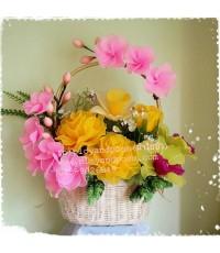 กระเช้าดอกไม้ของขวัญ 1