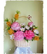 กระเช้าดอกไม้ของขวัญ 3