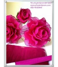 ดอกกุหลาบชมพู (ราคาต่อดอก)
