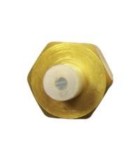 หัวถ่ายน้ำยาทองเหลือง