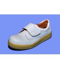 รองเท้า SafetyPVC445-White