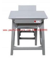 pmy1-8 โต๊ะ-เก้าอี้นักเรียน มอก.ระดับ4(ประถมศึกษา) พลาสติกทั้งตัว