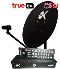 ชุดจานดาวเทียม PSI OK ขนาด 60 ซ.ม. (TRUE TV) รุ่นใหม่