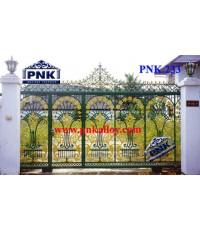 PNK.233 ประตู **ลายดอกฝิ่น**