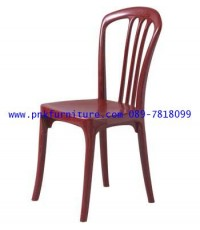 kkw5-30 เก้าอี้พลาสติก มีพนักพิง
