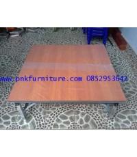 โต๊ะพับเอนกประสงค์ หน้าโต๊ะเมลามีน kkw2-24