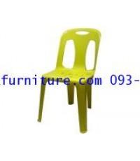 kkw5-26 เก้าอี้พลาสติก เกรด A  รุ่นหนาพิเศษ No.154