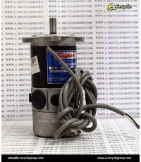 AC SERVO MOTOR SANYO DENKI U718-012518,180W 75V 3.4A 3000RPM (สินค้ามือสอง)